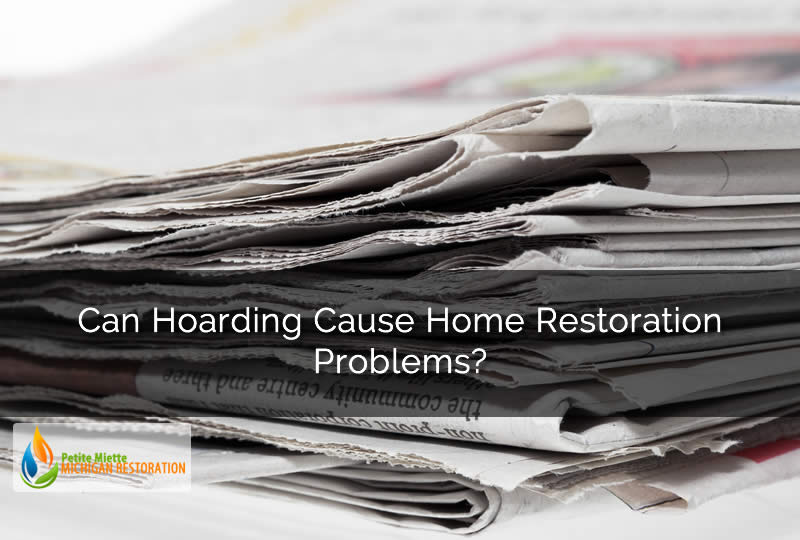 Can Hoarding Cause Home Restoration Problems?