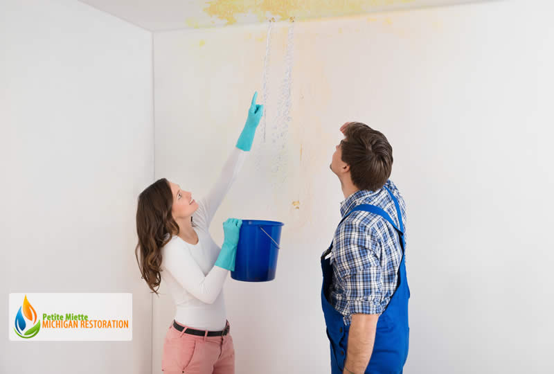 Water Leaking Through Ceiling? Be Careful of These Dangers