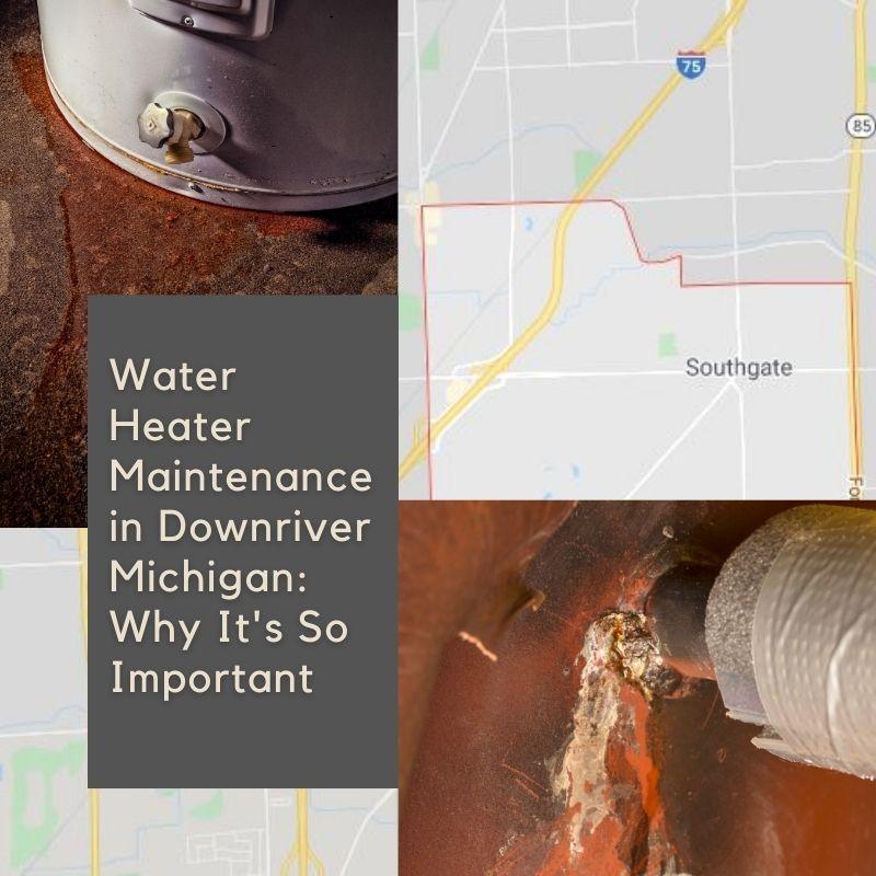 Leaking Water Heater Downriver MI